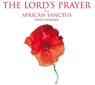 The Lord's Prayer poppy